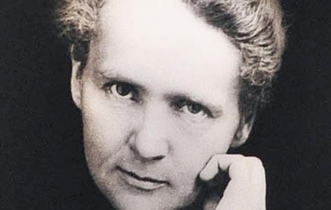 Porträtfoto von Marie Curie