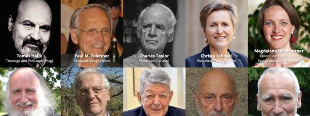 Unterstützerinnen und Unterstützer für Papst Franziskus