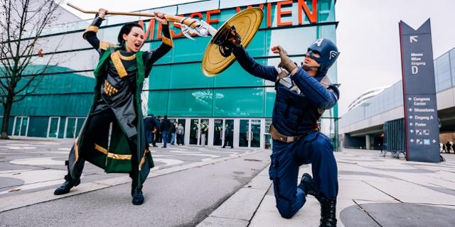 Bilder der letztjährigen Vienna Comic Con in Wien