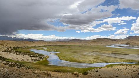 Fluss Brahmaputra