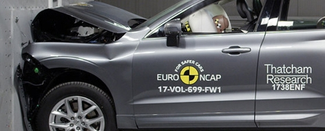 Autos im Crashtest