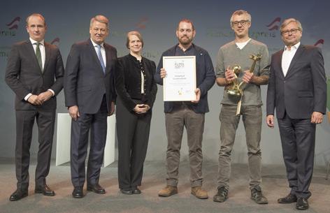 Verleihung Klimaschutzpreis 2017