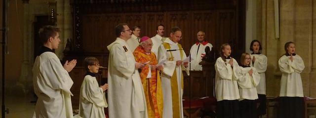 Weihbischof Krätzl in Sankt Elisabeth
