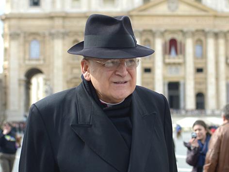 Kardinal Raymond Leo Burke im Vatikan