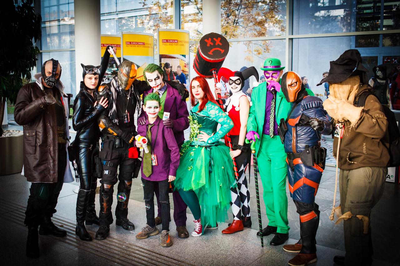 Cosplayer auf der Vienna Comic Con