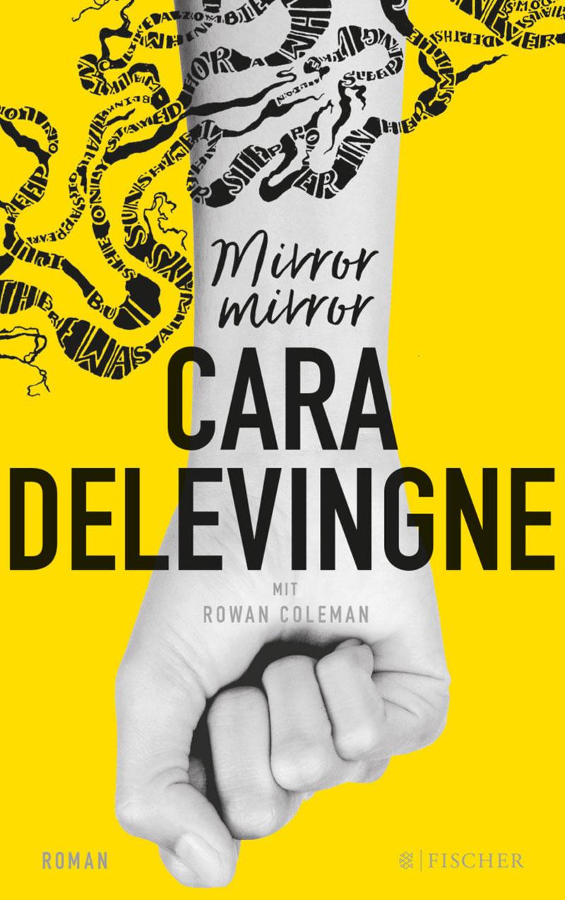 """Buchcover Cara Delevingne """"Mirror Mirror"""""""