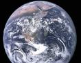 Planet Erde, aufgenommen während einer Apollo-Mission 1972