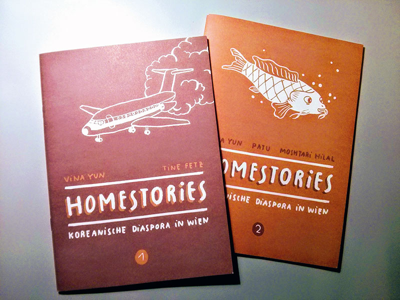 Buchcover der Homestories