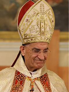 Der maronitische Kardinal-Patriarch Bechara Boutros al-Rai