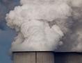 Schlot eines Kraftwerks mit CO2-Ausstoß