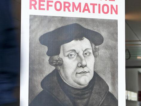 Ein Plakat zum Reformationsjubiläum 2017