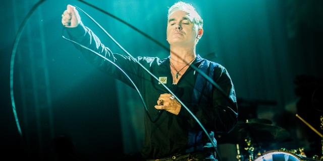 Morrissey auf der Bühne