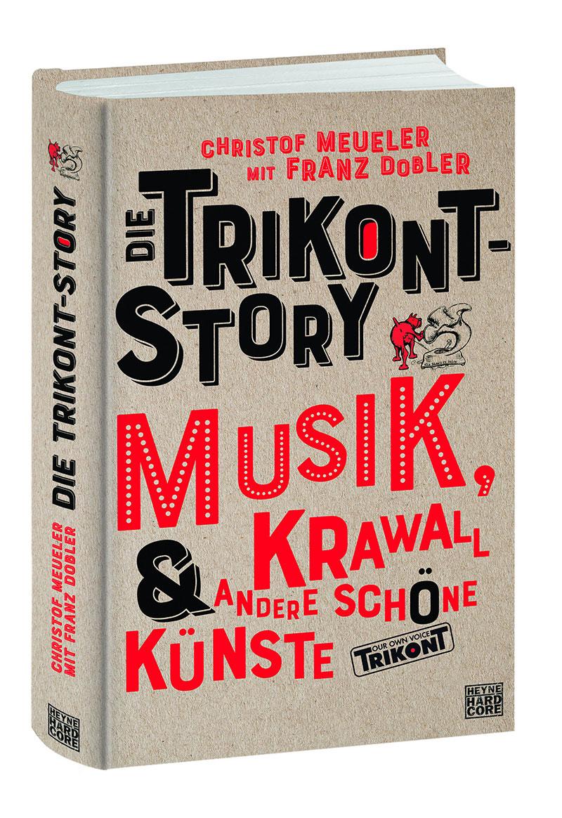 Buchcover zu Die Trikont Story