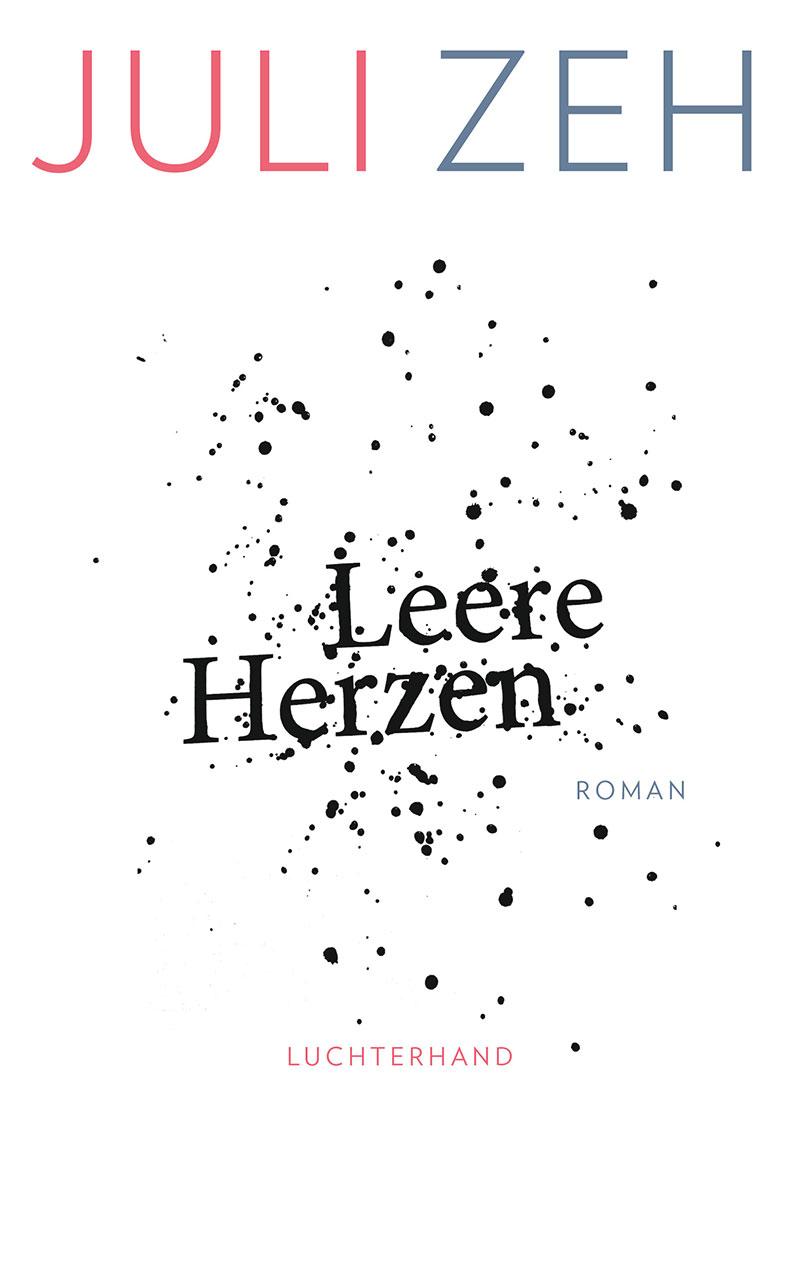 """Buchcover von Juli Zehs """"Leere Herzen"""""""