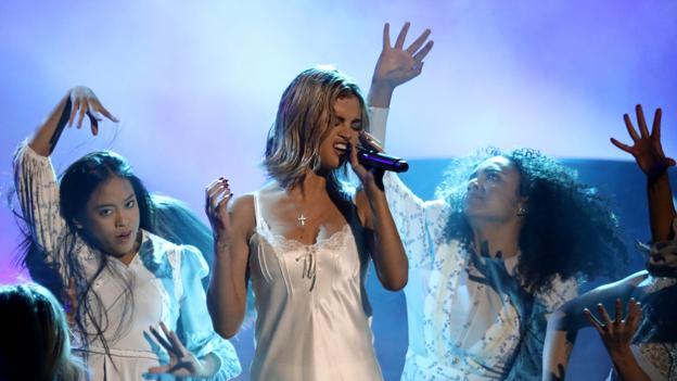 Selena Gomez bei den  American Music Awards.