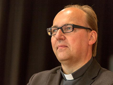 Der zukünftige Innsbrucker Bischof Hermann Glettler