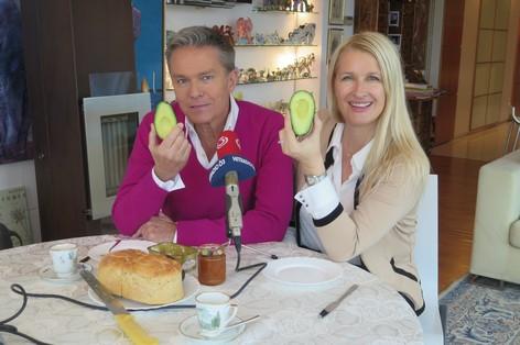 Haider frühstückt mit Claudia Stöckl