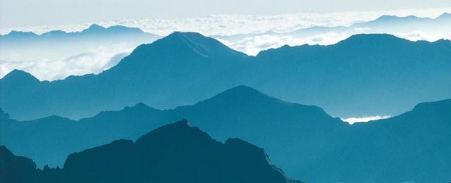 Bergmassiv in der Steiermark