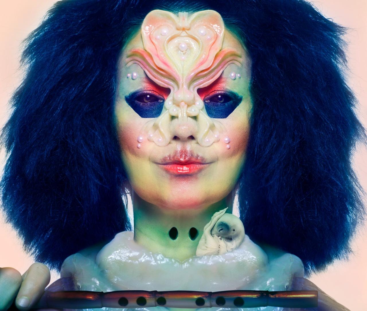 """Björk """"Utopia"""" Albumcover"""
