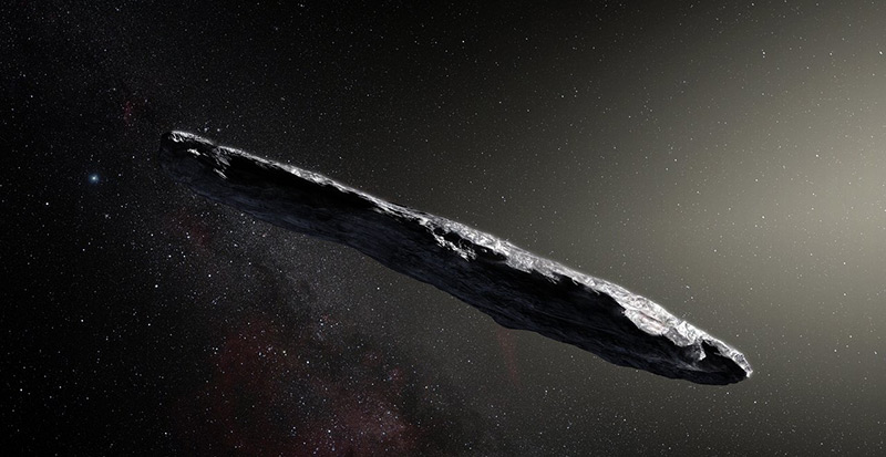 "Der Asteroid 1I/2017 U1 beziehungsweise ""Oumuamua"""