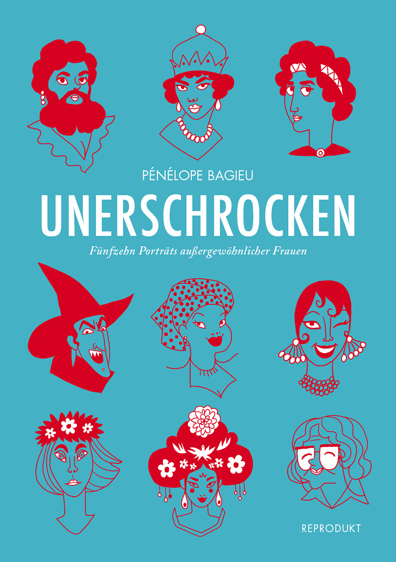"""Buchcover von """"Unerschrocken"""""""