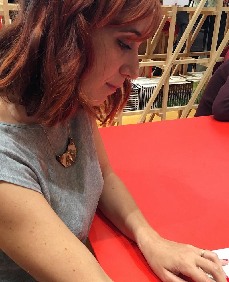 Die Comiczeichnerin Pénélope Bagieu