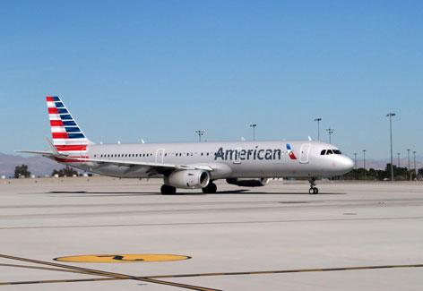 Flugzeug der American Airline