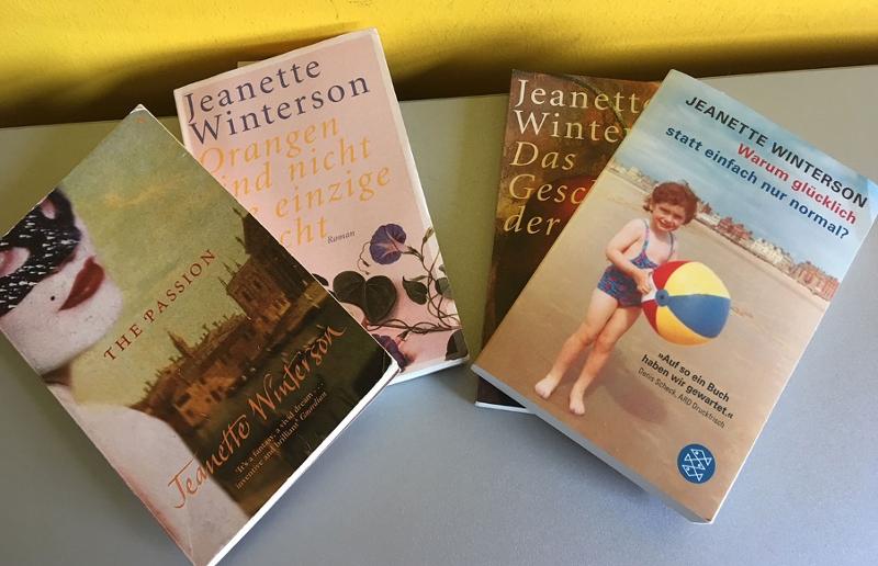 Ein paar von Jeanette Wintersons Büchern