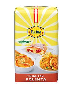 """Eine Packung """"Farina 1 Minuten Polenta"""""""
