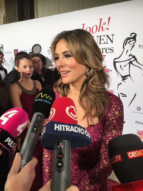 Hollywoodstar Liz Hurley