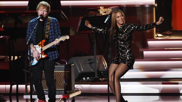 Ed Sheeran und Beyonce