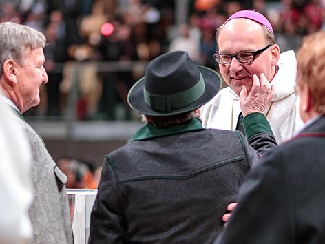 Neuer Bischof Innsbruck