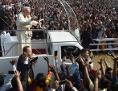 Papst Papamobil Bangladesch