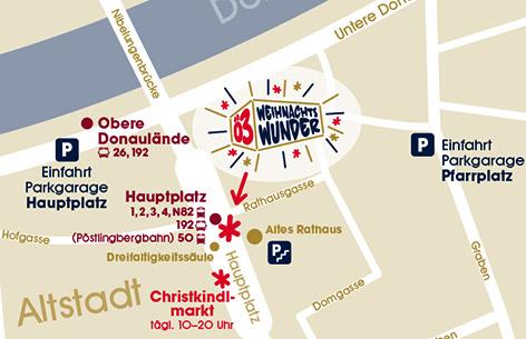 Plan: Das Ö3-Weihnachtswunder in Linz