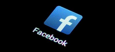 App-Symbol für Facebook auf einem Smartphone