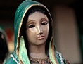 Pilger gedenken der Jungfrau von Guadalupe am 12. Dezember 2016 in Mexiko