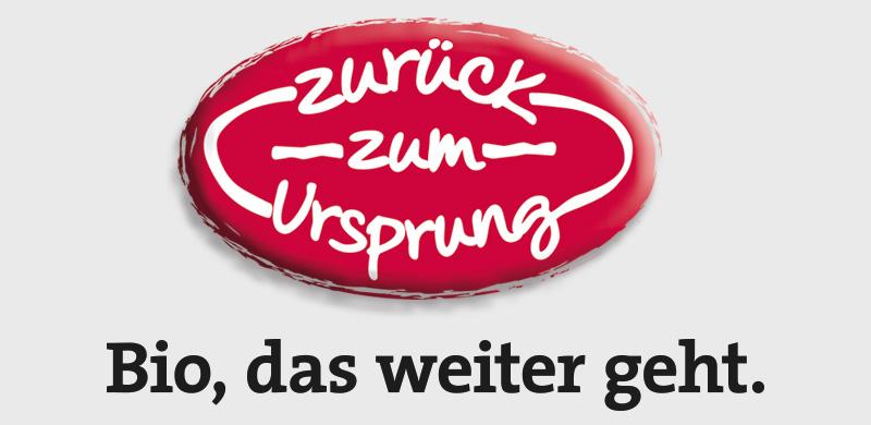 Zurück zum Ursprung Logo