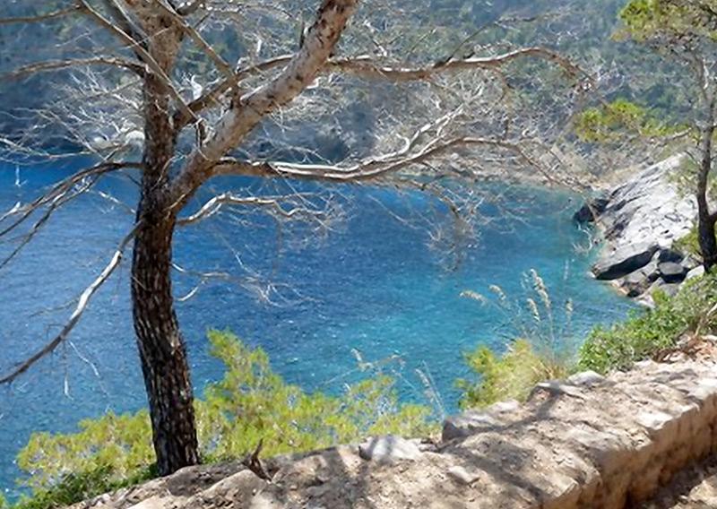 Landschaft in der Nähe der S'Estaca