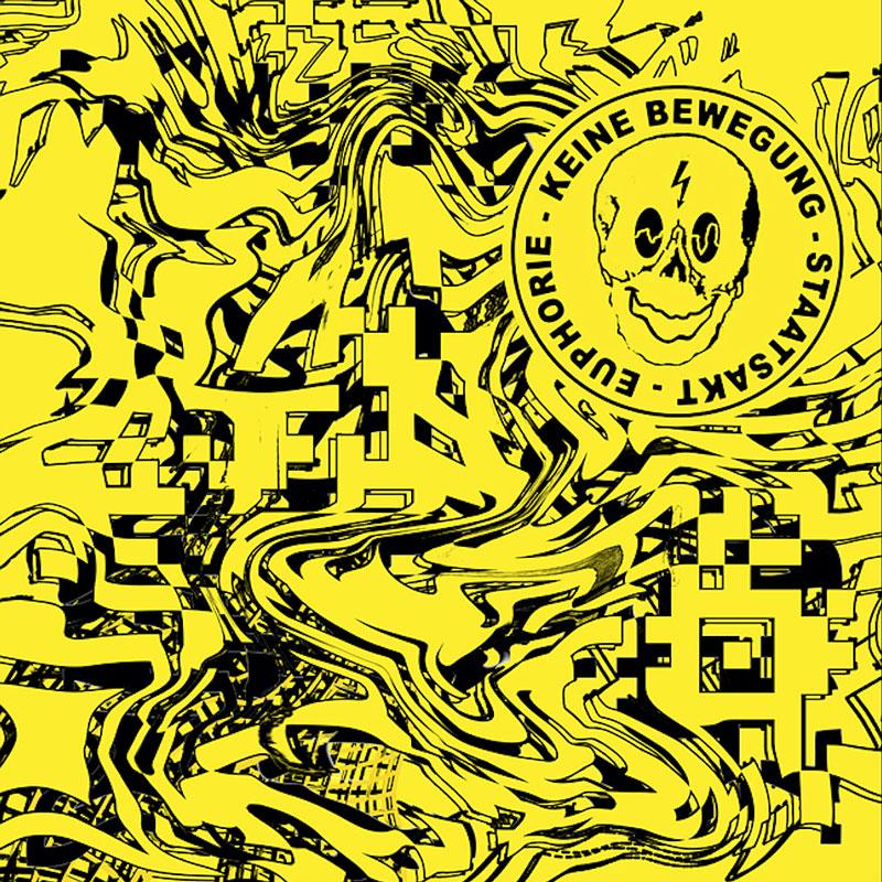 """Albumcover - """"keine bewegung 2"""" von Staatsakt"""