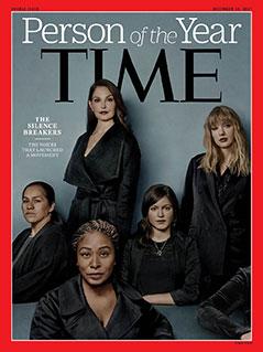 "Time""-Magazin Cover Frauen hinter #MeToo-Bewegung"