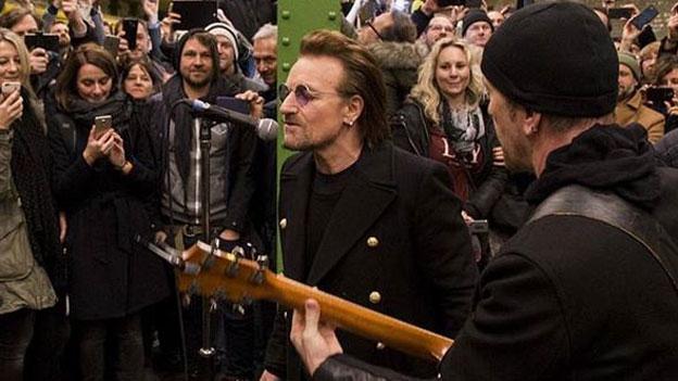 U2 Singen in Ubahn