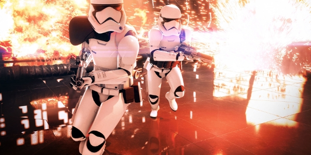"Screenshots aus ""Star Wars: Battlefront II"""