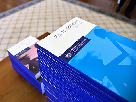 Schlussbericht einer offiziellen Ermittlungskommission zum Missbrauch von Kindern in Australien