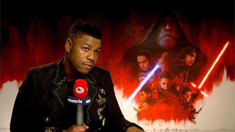 John Boyega im Ö3-Interview