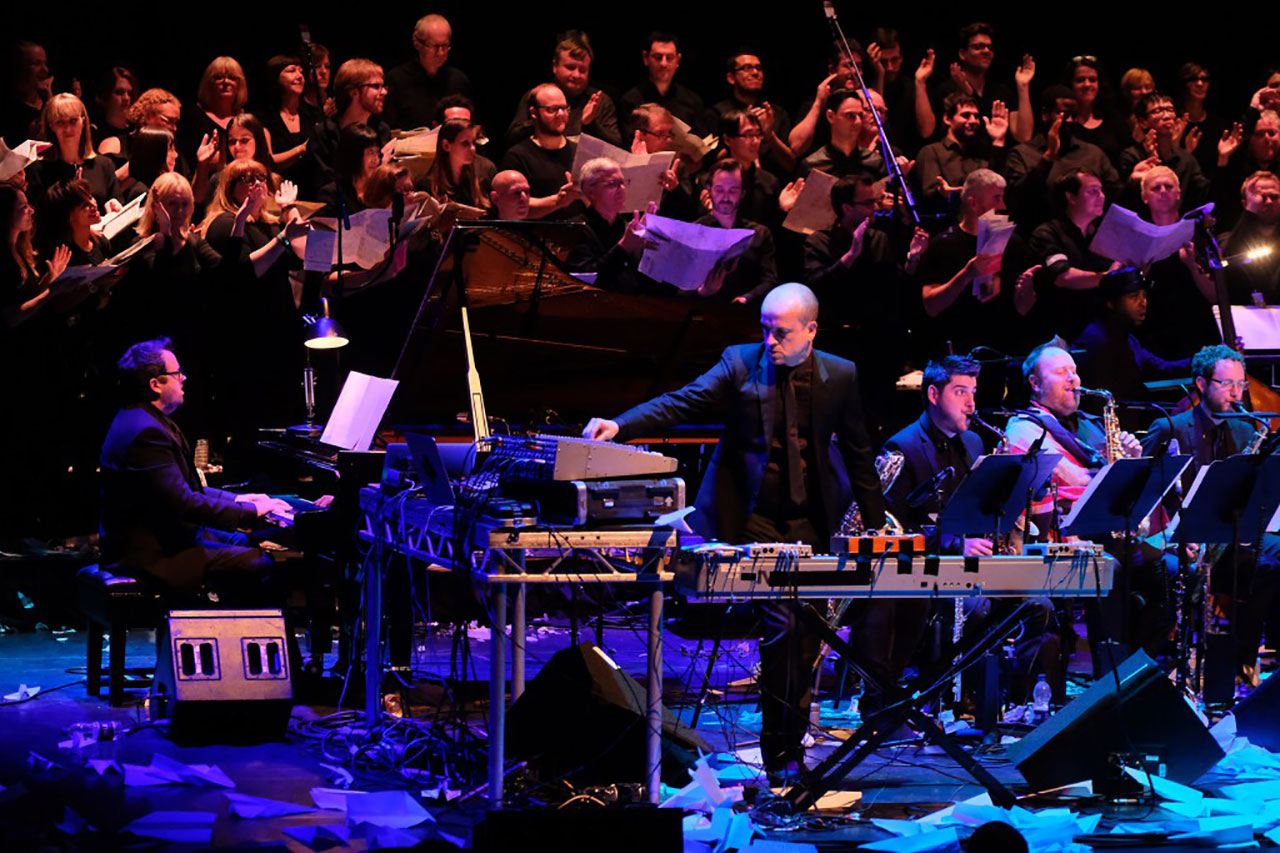 Matthew Herbert's Brexit Big Band live im Barbican