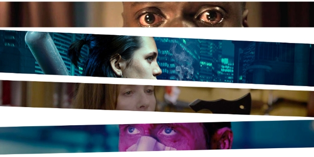 "Szenenbilder aus ""Get Out"", ""Tiger Girl"" ""Elle"" und ""Good Time"""
