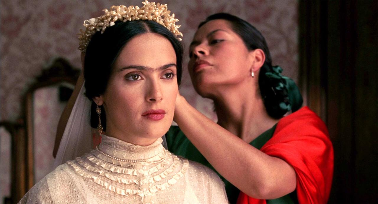 "Salma Hayek in ""Frida"""