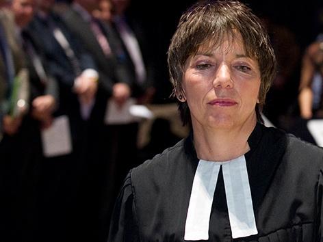 Die evangelische deutsche Theologin Margot Käßmann