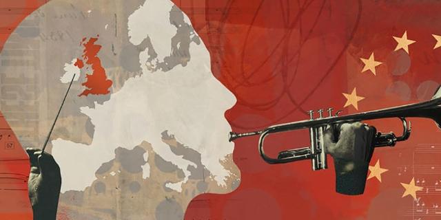 Flyer für Matthew Herbert's Big Band im Barbican