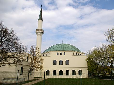 Moschee am Hubertusdamm in Wien